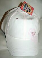 Light Pink Super Girl DC Comics Baseball Cap Hat New Youth 2007