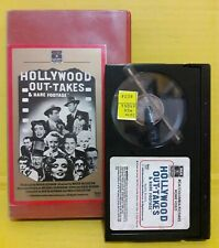 Hollywood out takes & rare footage - BetaMax (NOT VHS) RARE