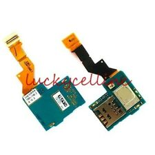 Sim Card Holder Socket Slot Tray Flex Cable For Sony Xperia S LT26 LT26i