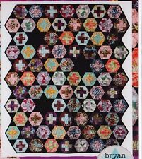 Hexy Plus - fabulous modern pieced quilt Pattern - Bryan House Quilts