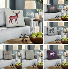 Luxury Teddy Cushion Cover Pack Of 4 Soft Cuddly Plush Embroidered Decorative