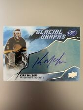 2019-20 Upper Deck ICE Glacial Graphs KIRK MCLEAN AUTO - Vancouver Canucks