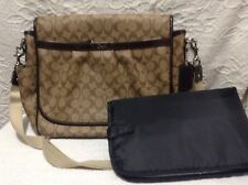 Coach F18373 snaphead coated brown satchel shoulder bag