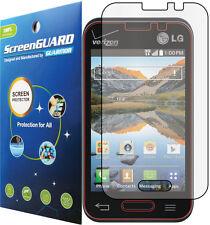 Clear LCD Screen Protector Guard LG Optimus Fuel Zone II 2 VS415 VS415PP L34C