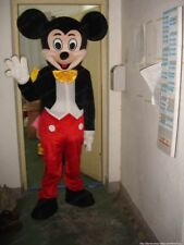 【TOP SALE】Professional Mickey Mouse Mascot Costume Unisex Adult Size Fancy Dress