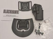 Blackhawk Serpa CQC Concealment Right Hand Holster Glock 19 23 32 36  410502BK-R