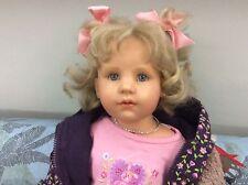 Bambola Artista Hildegard Gunzel bellissima da collezione Ottima!!! Doll