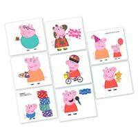 PEPPA PIG TATTOOS BIRTHDAY PARTY SUPPLIES