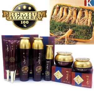 Premium Ginseng Skin Toner, Emulsion, Essence, Cream, Eye Cream Anti-Aging Care