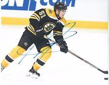 Ryan Spooner Signed Boston Bruins 8x10 Photo