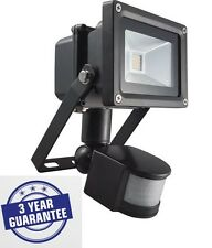 10W Classic Security PIR LED Floodlight IP65 Outdoor Garden Lamp