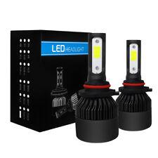 2x LED 9005 HB3 H10 72W 9000LM Headlight Phare De Voiture Ampoule 6000K Blanc
