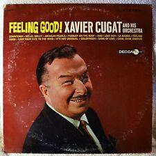 Xavier Cugat Feeling Good DJ Promo White Label LP Cover Wear VG++ Vinyl Latin