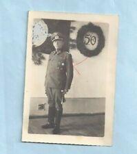 Nr.34652  Foto 2 WK Deutscher  Offizier Silber  Orden  6,5 x 9,5 cm