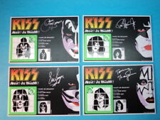KISS (WHOLE BAND) SLIDE PUZZLES SKILL GAMES * ARGENTINA * SIMMONS STANLEY THAYER