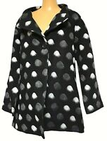 TS coat TAKING SHAPE plus sz XS / 14 Spot Me Not Jacket winter chic NWT rrp$200!