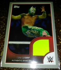 WWE Sin Cara 2016 Topps RTWM Event Used Shirt SILVER Relic Card SN 23 of 25