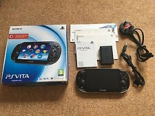 Sony PS Console PlayStation Vita Oled Wi-Fi 3g VER 3.60 in scatola (pch-1103) #35