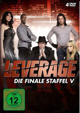 4 DVDs * LEVERAGE - STAFFEL V - FINALE SEASON 5 # NEU OVP &