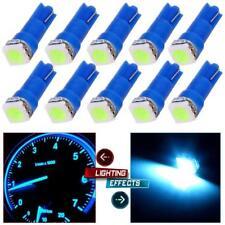 50Pcs Ice Blue T5 LED Car Interior Gauge Cluster Instrument Dashboard Light 12V