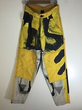 Bernhard Willhelm AW 15-16 Deconstructed Abstract Graphic X Carpenter Pants S