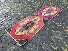 Handmade rug, Runner rug, Turkish rug, Vintage rug, Wool, Carpet | 2,2 x 8,0 ft