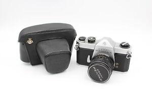 Asahi Pentax SL SLR FILM CAMERA w/ Super-Takumar 55mm Lens, Mechanically Working