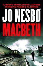 9788817099516 Jo Nesbø Macbeth Rizzoli