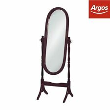 Oval Contemporary Free Standing/Cheval Decorative Mirrors