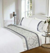 Jessica Jacquard Luxe Maison Panel Double Duvet Set (Duvet Cover and 2 Pillows)