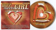 [BEE GEES COVER] VARIOUS ARTISTS~BOY MEETS GIRL~1999 GERMAN 15-TRACK CD ALBUM