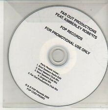 (CU535) Far Out Productions ft Kimberley Roberts, Party People - 2009 DJ CD