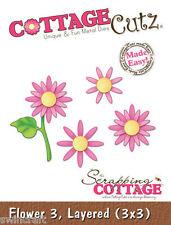Cottage Cutz muere - 3D Die incl. Flor de Espuma de liberación - 3, en capas-CC3x3-063 *