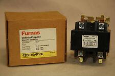 Furnas 42DE15AF106 Definite Purpose Magnetic Contactor 50 - 63 Amp 2 Pole 110V