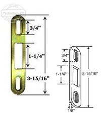 "Sliding Glass Patio Door Keeper, 3-15/16"" Height x 1"" Width"
