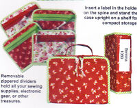 PATTERN - Hold Everything - fun little fabric case PATTERN - lots of pockets