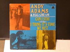 ANDY ADAMS & EGG CREAM Can i stay 45 PR 140257