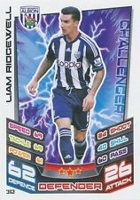 N°312 LIAM RIDGEWELL WEST ALBION TRADING CARD MATCH ATTAX TOPPS 2013