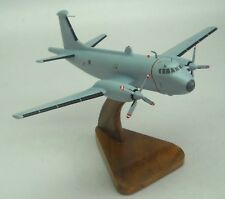 Br-1150 Atlantic Breguet Airplane Wood Model Small