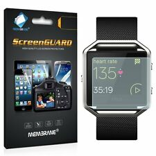 3 x Clear LCD Screen Protector Film Foil Saver For Fitbit Blaze