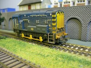 Bachmann 32-115 BR Blue Class 08 Diesel Shunter 08173 Factory Weathered