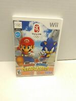 Mario & Sonic at the Olympic Games (Wii, 2007). CIB Tested Fast Shipping