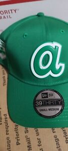 Atlanta Braves St. Patricks A New Era 39Thirty Baseball  Cap Retail $36