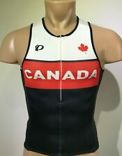 New Pearl Izumi Men Tri Singlet Triathlon Top Cycling Swim Running CANADA Large