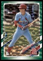 2021 Topps Series 1 Base Green #314 Tommy Edman /499 - St. Louis Cardinals