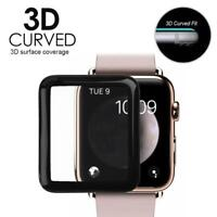 3D Tempered Glass Film Full Coverage Screen Protector for Apple Watch 42mm 38mm