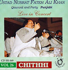 Ustad Nusrat Fateh Ali Khan - Chithhi....Qawwal & Party (Punjabi Audio CD)