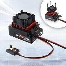 Hobbywing Sensored Digital Brushless Esc 120A For 1/10 1/12 Touring Cars Parts