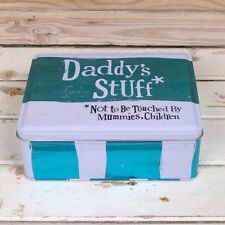 The Bright Side Storage Tin - Daddy's Stuff Tin -Daddy  Dad Gift Christmas