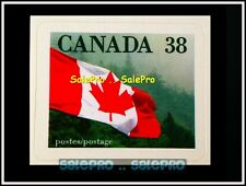 CANADA 1989 CANADIAN MAPLE LEAF WAVING FLAG RARE MINT FV FACE 38 CENT MNH STAMP